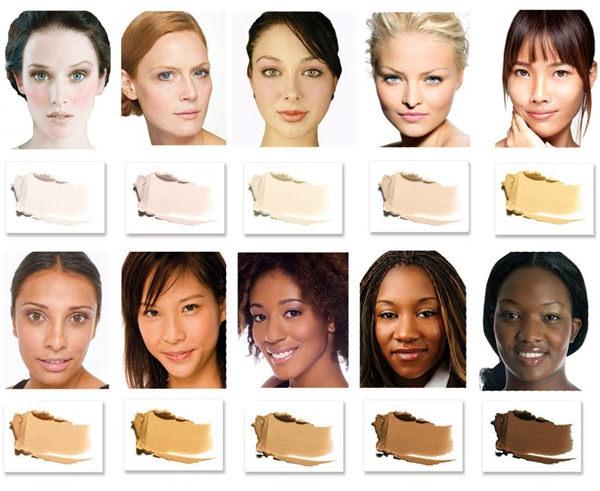 Kem nền cho từng loại da